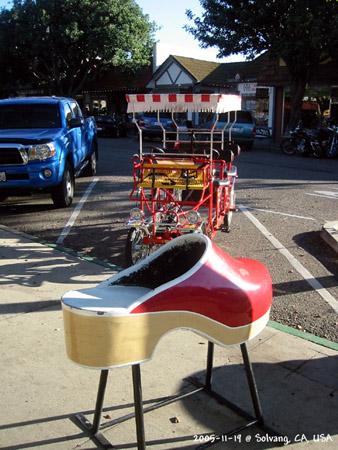 木靴和轮车